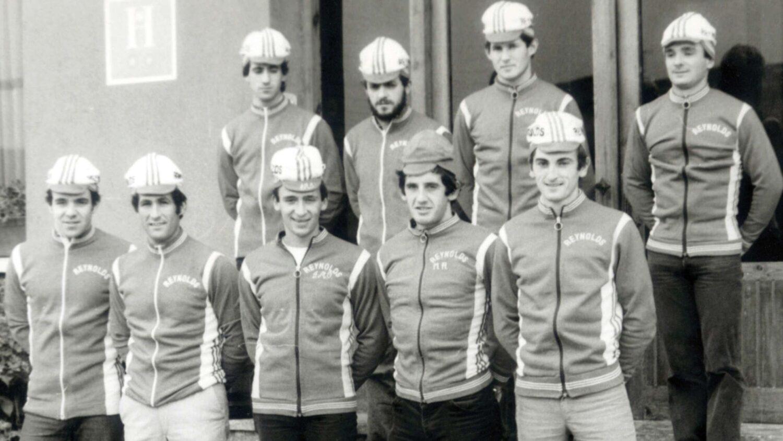Imagen del equipo de 1980