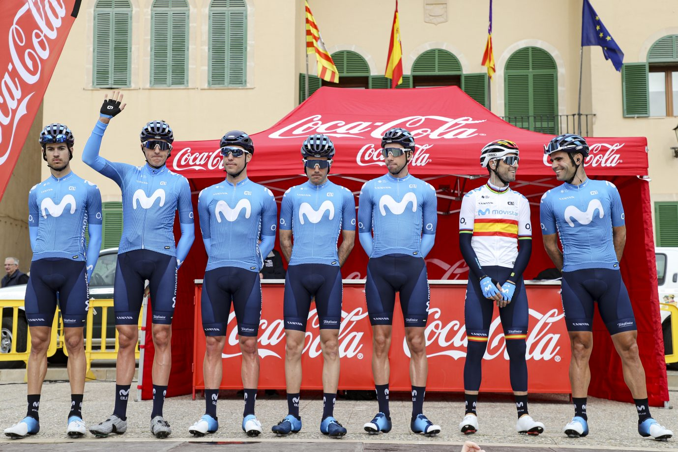 Imagen de la noticia 'Full-speed debut for Movistar Team on European soil'