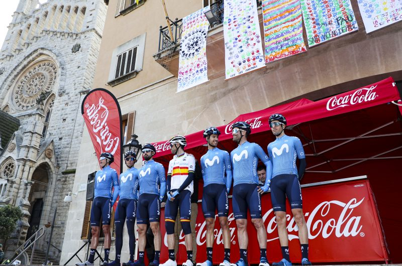 Imagen de la noticia Valverde (2nd) takes first 2020 podium finish in Deià