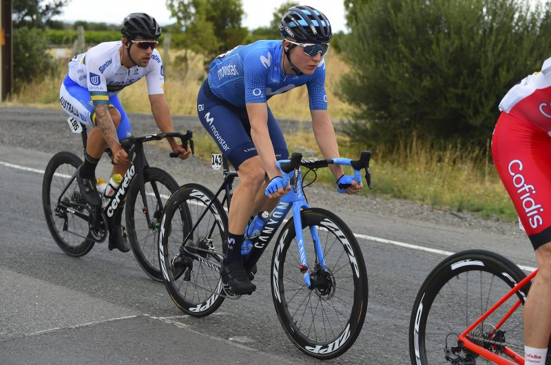 News' image'Hollmann, en la fuga decisiva del Tour Down Under'