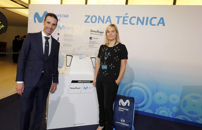 Imagen de la noticia 'SleepAngel and Movistar Team partnership continues in 2020'