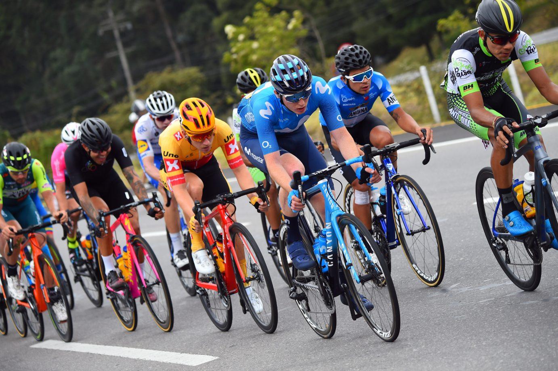 News' image'Jorgenson, en fuga camino de El Verjón; Alba, sufrimiento para cerrar el Tour Colombia'