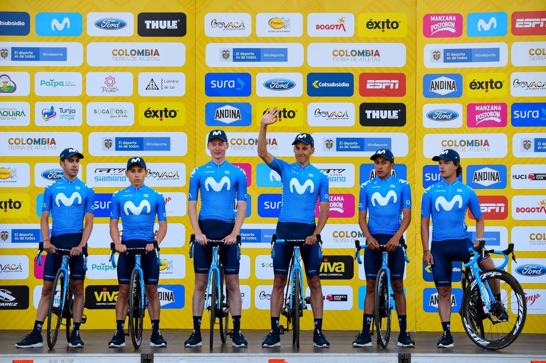 Imagen de la noticia 'Movistar Team enjoying local crowds before 2020 Tour Colombia'