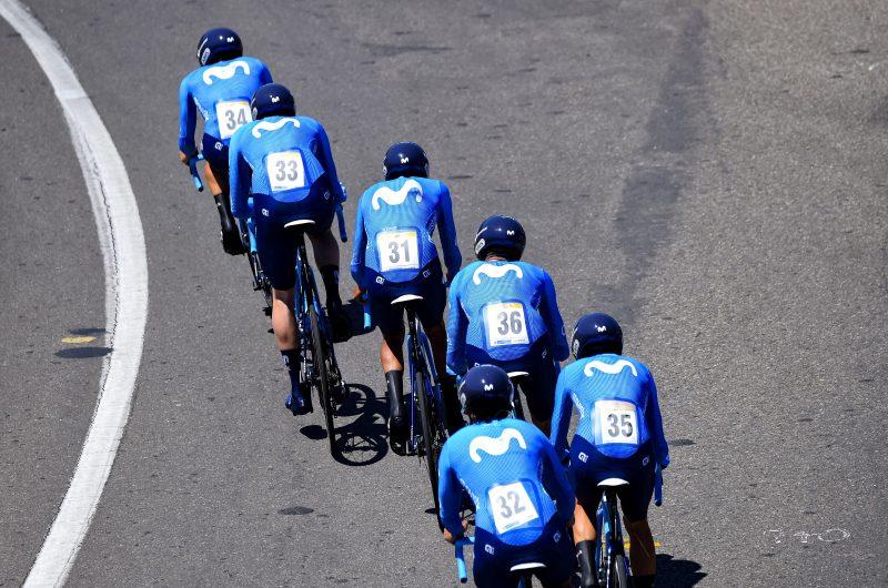 Imagen de la noticia Movistar Team youngsters score solid 7th in Tunja TTT
