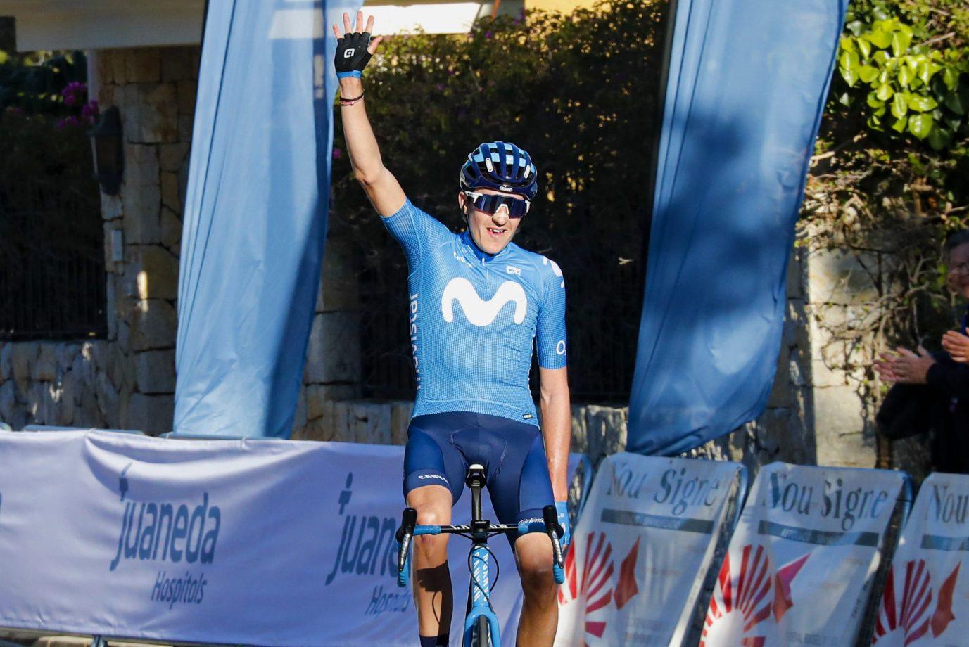 Imagen de la noticia 'Marc Soler claims Movistar Team's first 2020 victory in Mallorca'