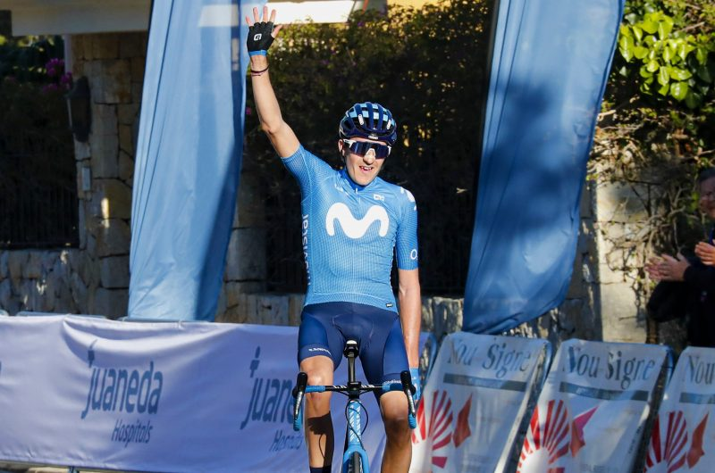 News' image'Marc Soler estrena al Movistar Team 2020 en Mallorca'