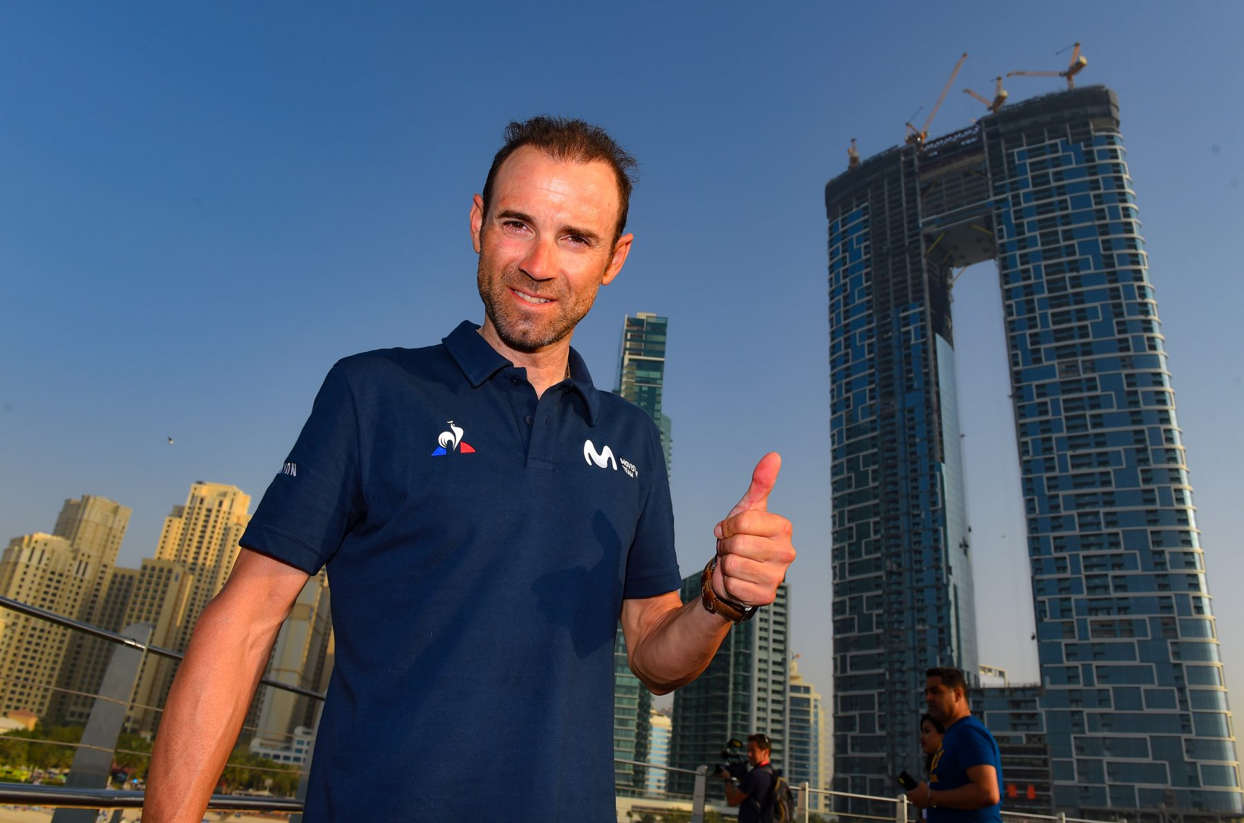 Imagen de la noticia 'Valverde, Movistar Team ready for Sunday's UAE Tour start'