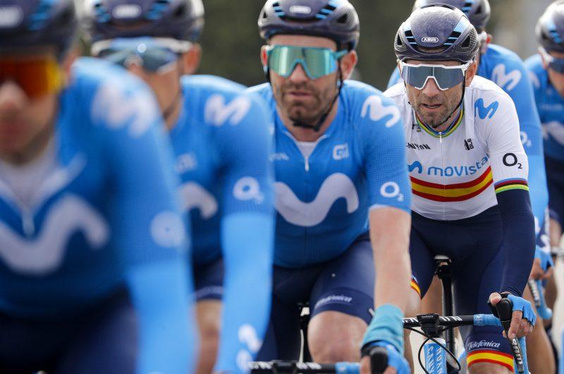 News' image'Valverde, en el top-ten de la Vuelta CV tras la durísima etapa 'reina''