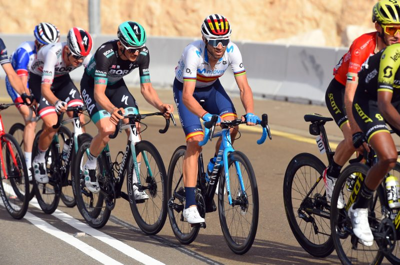 Imagen de la noticia 'Valverde (7th) takes important step forward atop Jebel Hafeet'
