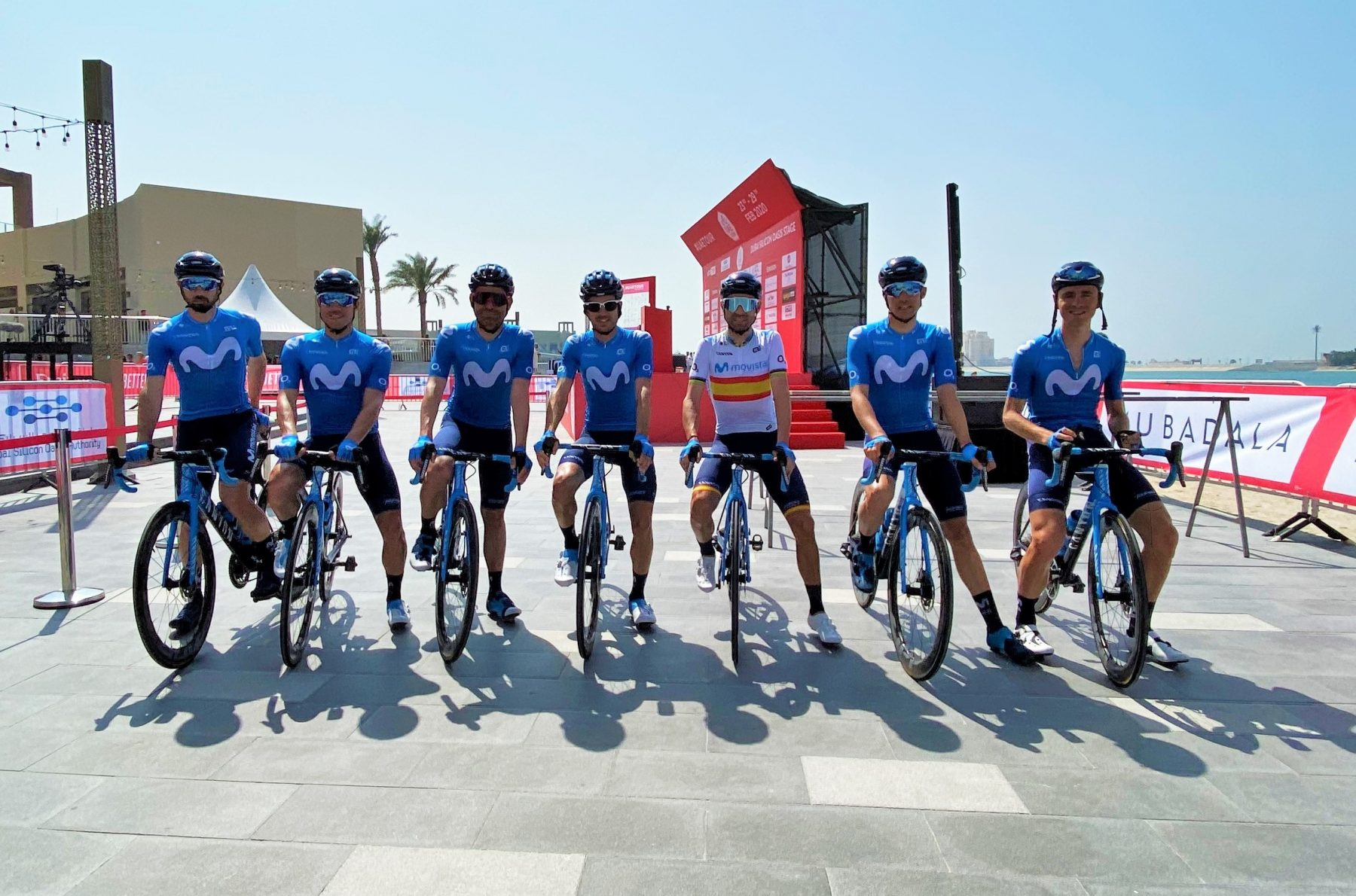 News' image'Sin problemas en el arranque de Dubai; Rojas, 9º'