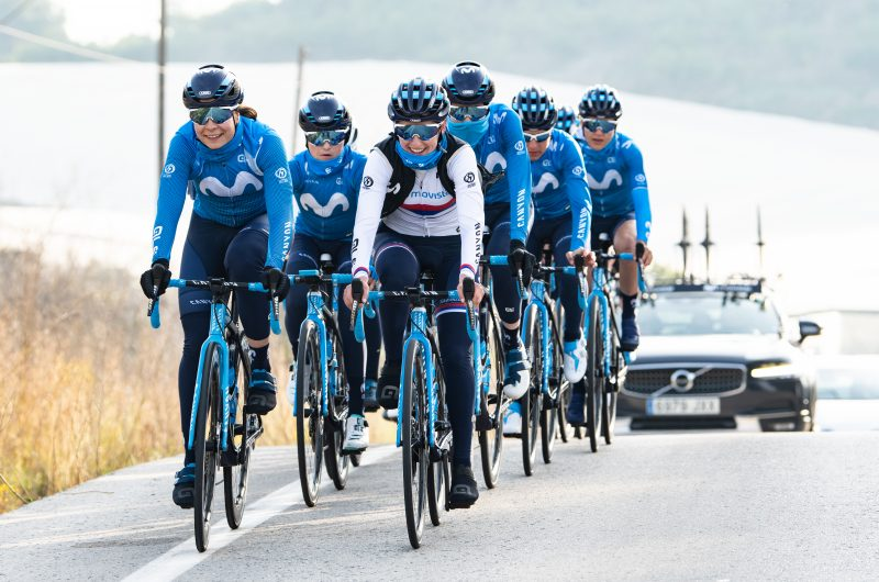 Imagen de la noticia 'Movistar Team successfully completes final women's training camp in Altea'