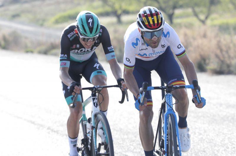Imagen de la noticia 'Valverde on the attack in 'his' Sierra Espuña'