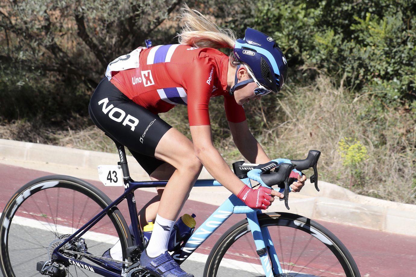 Imagen de la noticia 'Courageous Aalerud takes 9th overall in Setmana Valenciana'