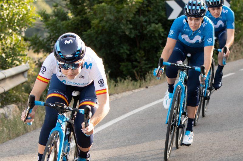 News' image'Debut en Valencia, 'stage' en Altea y tests en Tafalla para el Movistar Team femenino'