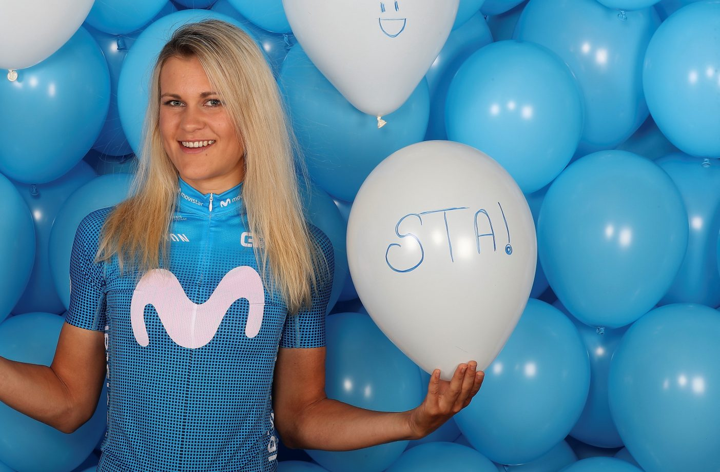 Imagen de la noticia 'Katrine Aalerud: one of Movistar Team's biggest climbing prospects'