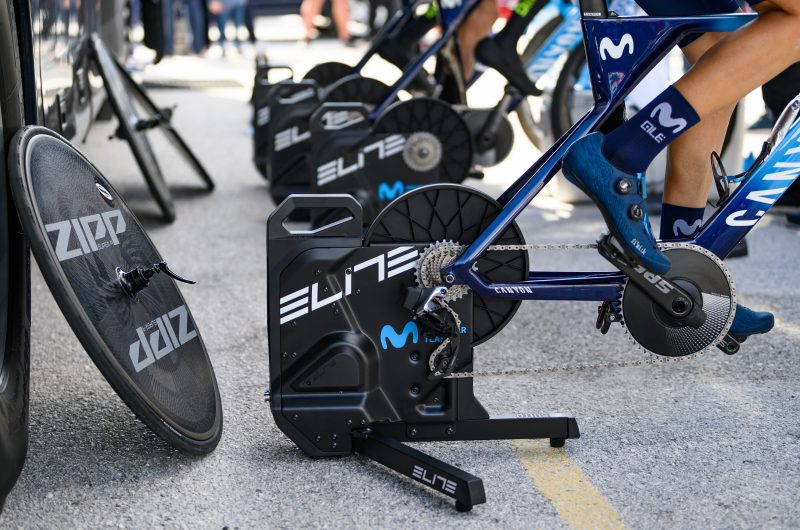 Imagen de la noticia 'Win an Elite Suito trainer, Movistar Team limited edition'