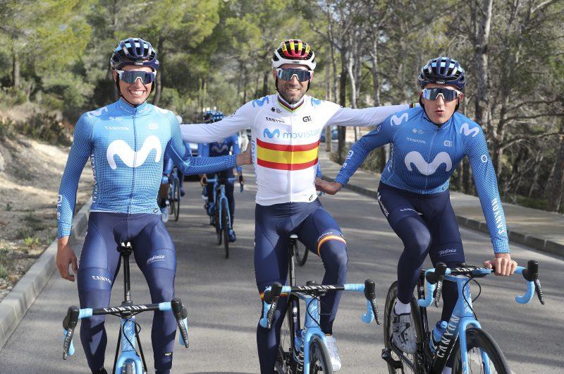 News' image'La equipación Alé de Movistar Team 2020, ya a la venta'