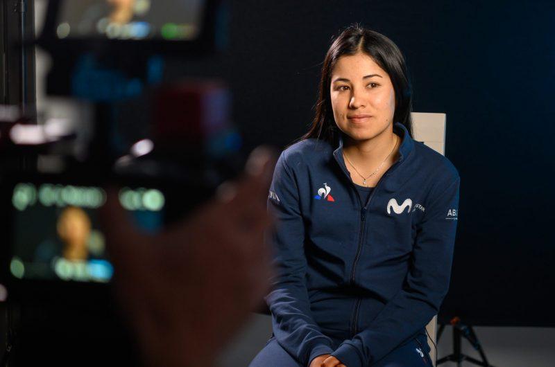 News' image'Movistar Team Talks: Paula Patiño, su fulgurante progresión y sus esperanzas de futuro'
