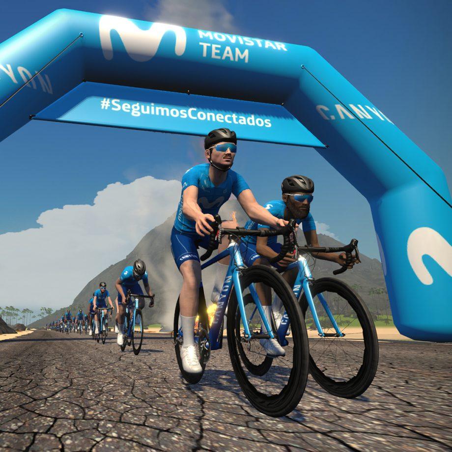 Imagen de la noticia '14 Community Qualifiers riders advance to Movistar Team Challenge's main rounds'