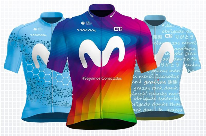 Imagen de la noticia 'Gobolo Design wins Movistar Team / Alé's Charity Jersey competition'