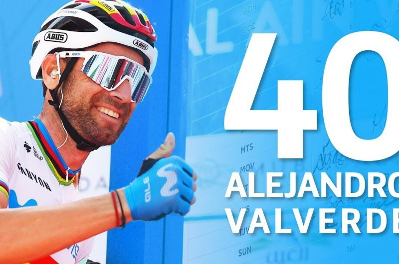 Imagen de la noticia 'Alejandro Valverde, 40 years young: the Movistar Team's birthday wishes'