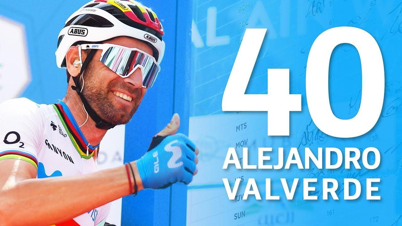 Imagen de la noticia 'Alejandro Valverde, 40 years young: the Movistar Team's birthday wishes'