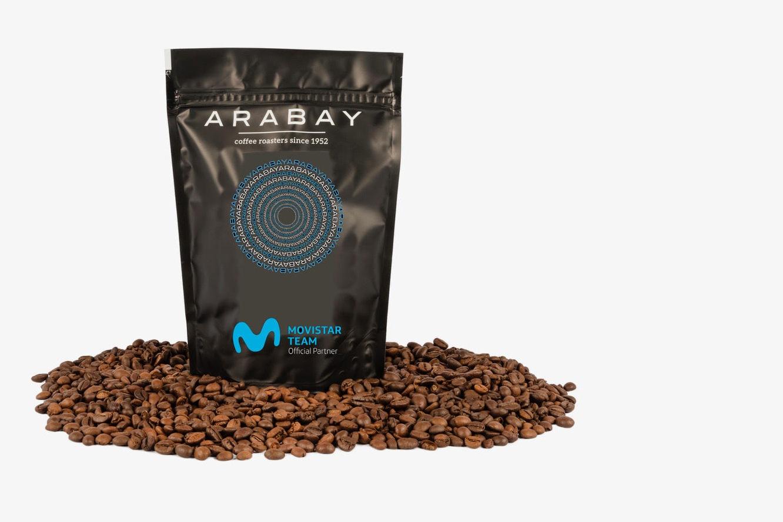 News' image'Arabay os ofrece cinco paquetes de café Movistar Blend en Instagram'