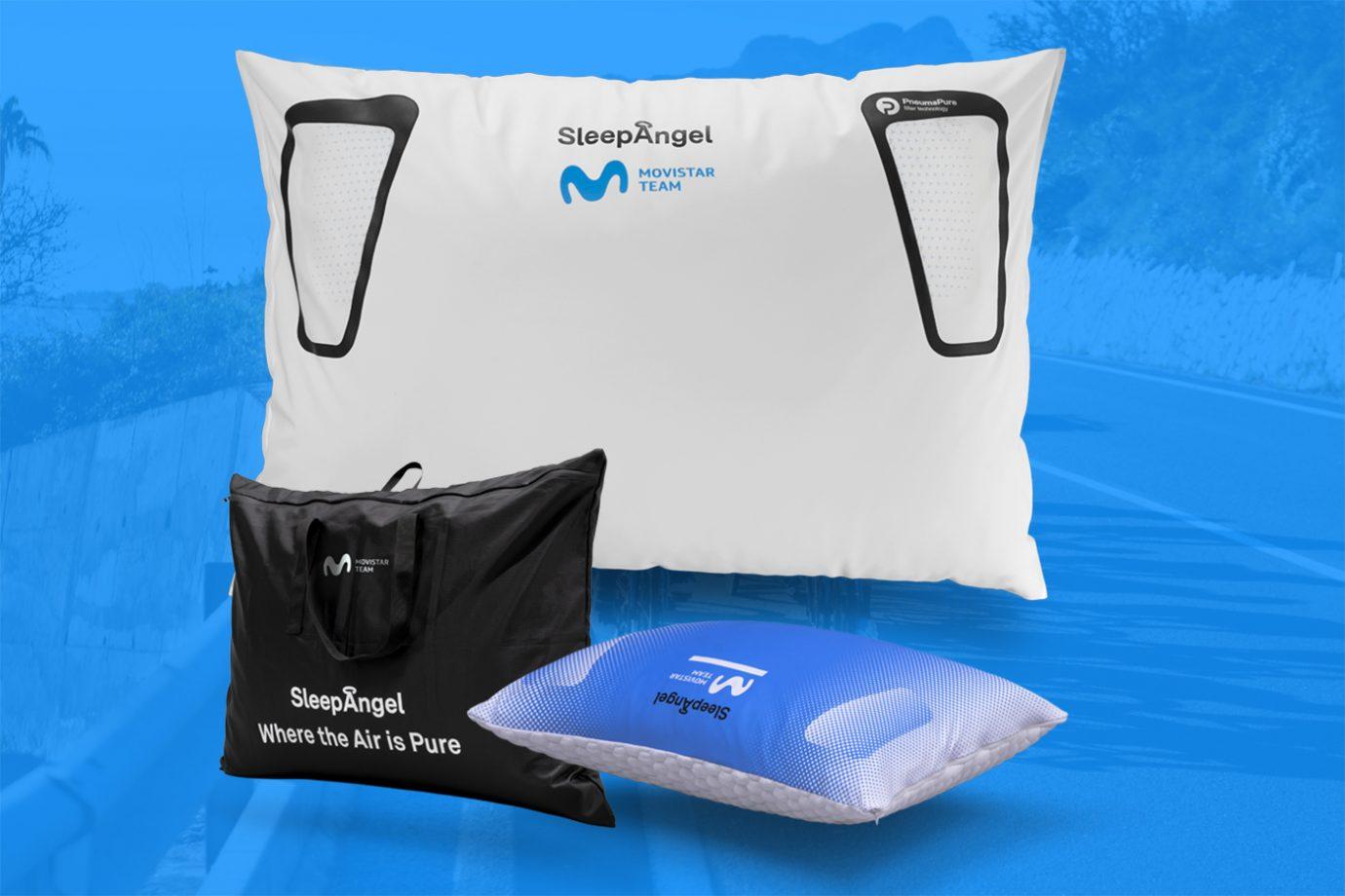 Imagen de la noticia 'SleepAngel gives you 2 packs of Movistar-branded microfibre pillow sets!'