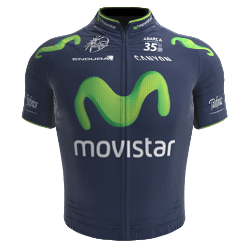 2014 - Movistar Team Maillot