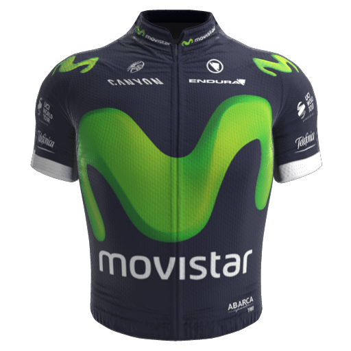 2016 - Movistar Team Maillot