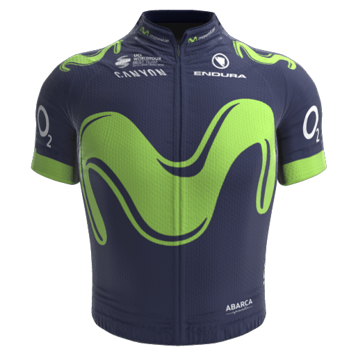 2017 - Movistar Team Maillot