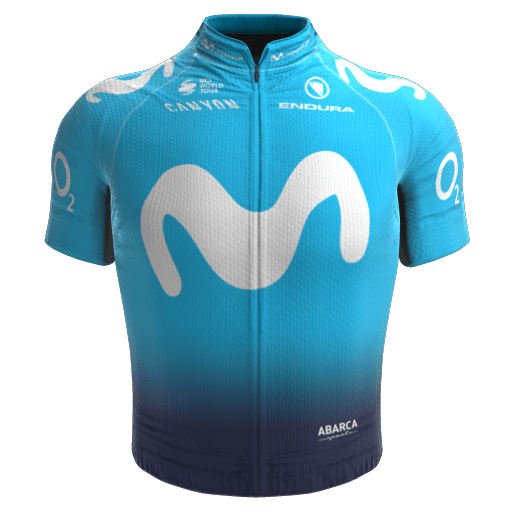 2018 - Movistar Team Maillot
