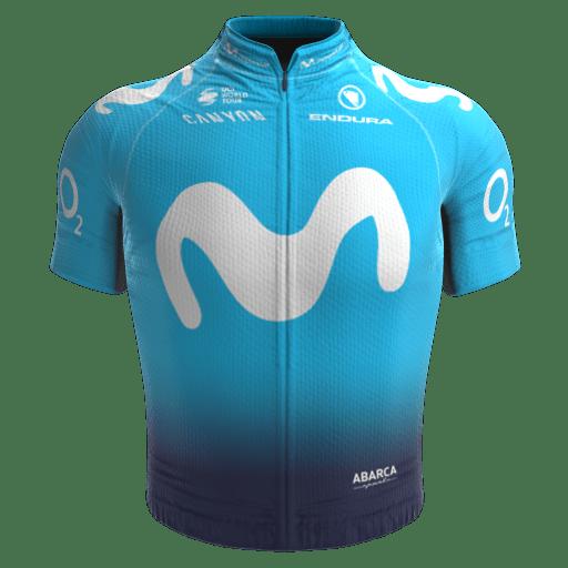2018 - Movistar Team Maillot
