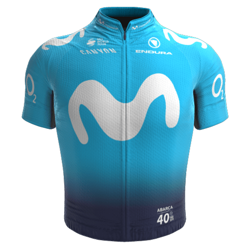 2019 - Movistar Team Maillot