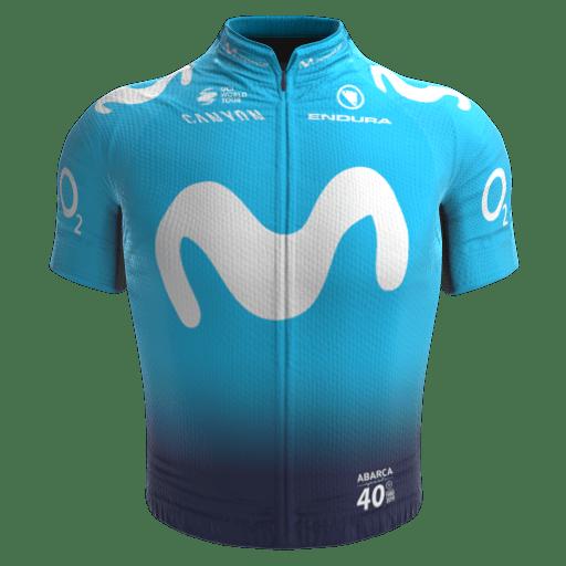 2019 - Movistar Team Maillot