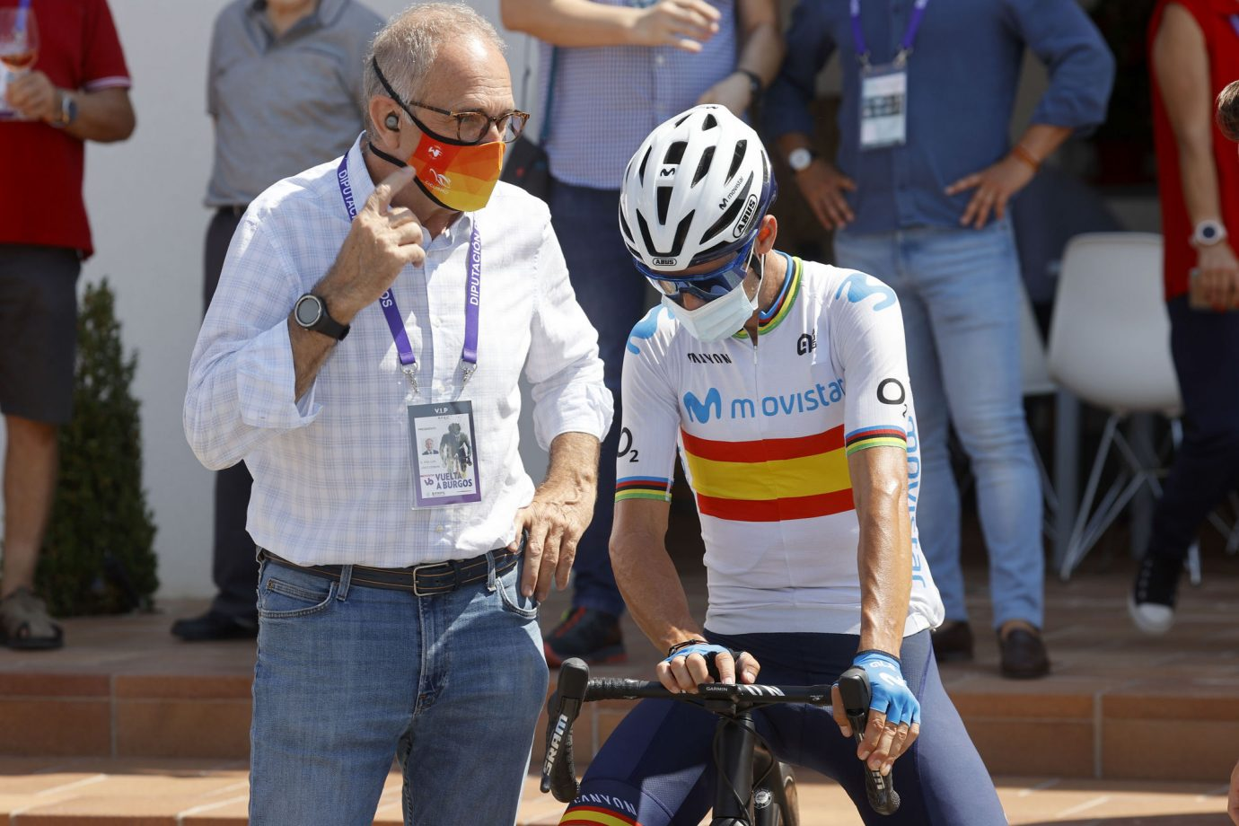 Imagen de la noticia 'Valverde remains 11th overall before Neila'