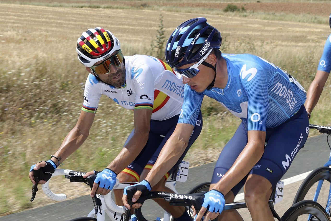 Imagen de la noticia 'Calm finish for Valverde, Mas ahead of Picón Blanco'
