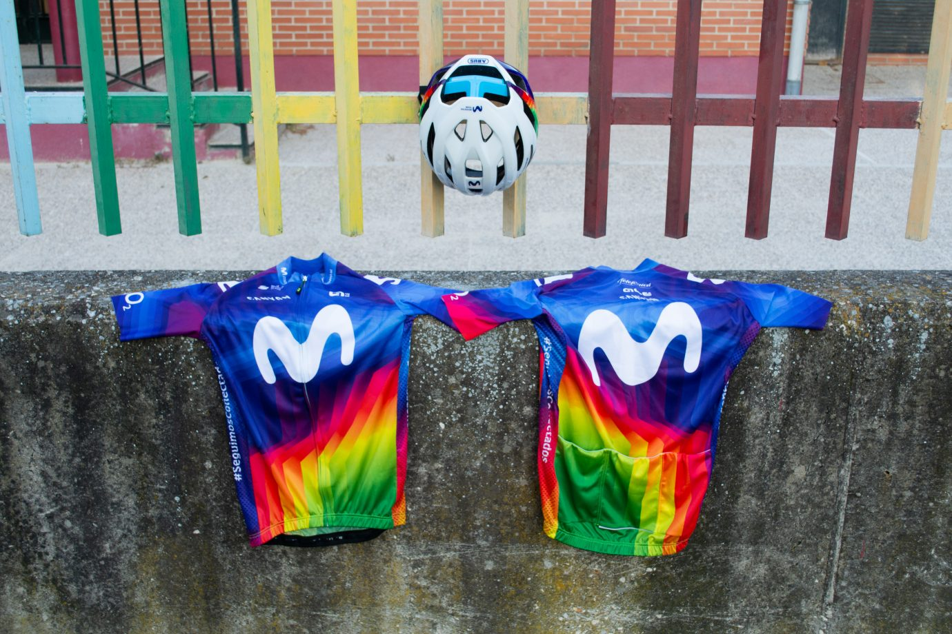 Imagen de la noticia Movistar Team to wear fan-selected Charity Jersey at Strade Bianche