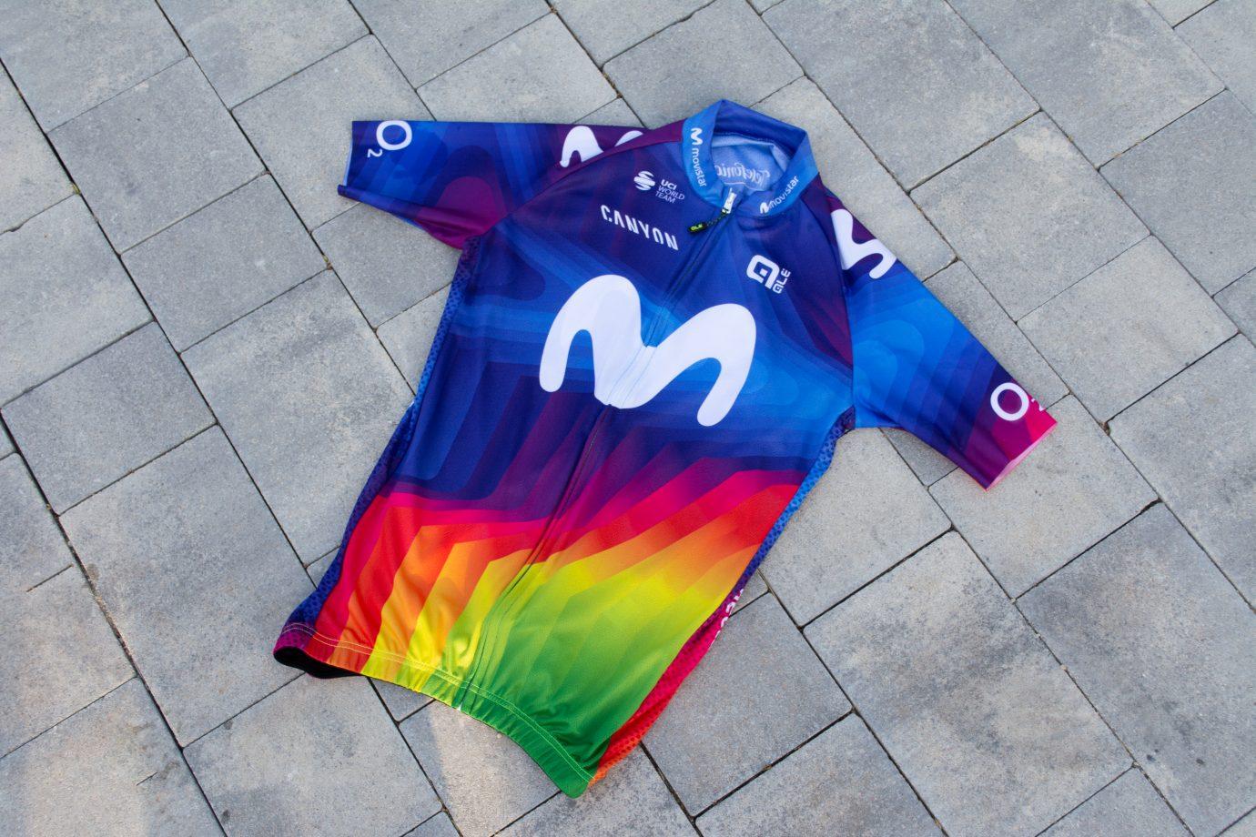 Imagen de la noticia '10 Movistar Team Charity Jerseys put up for auction (August 3-7)'