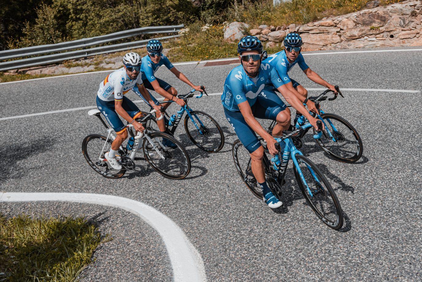 News' image'Movistar Team prepara el nuevo 2020 en Pirineos (y II)'