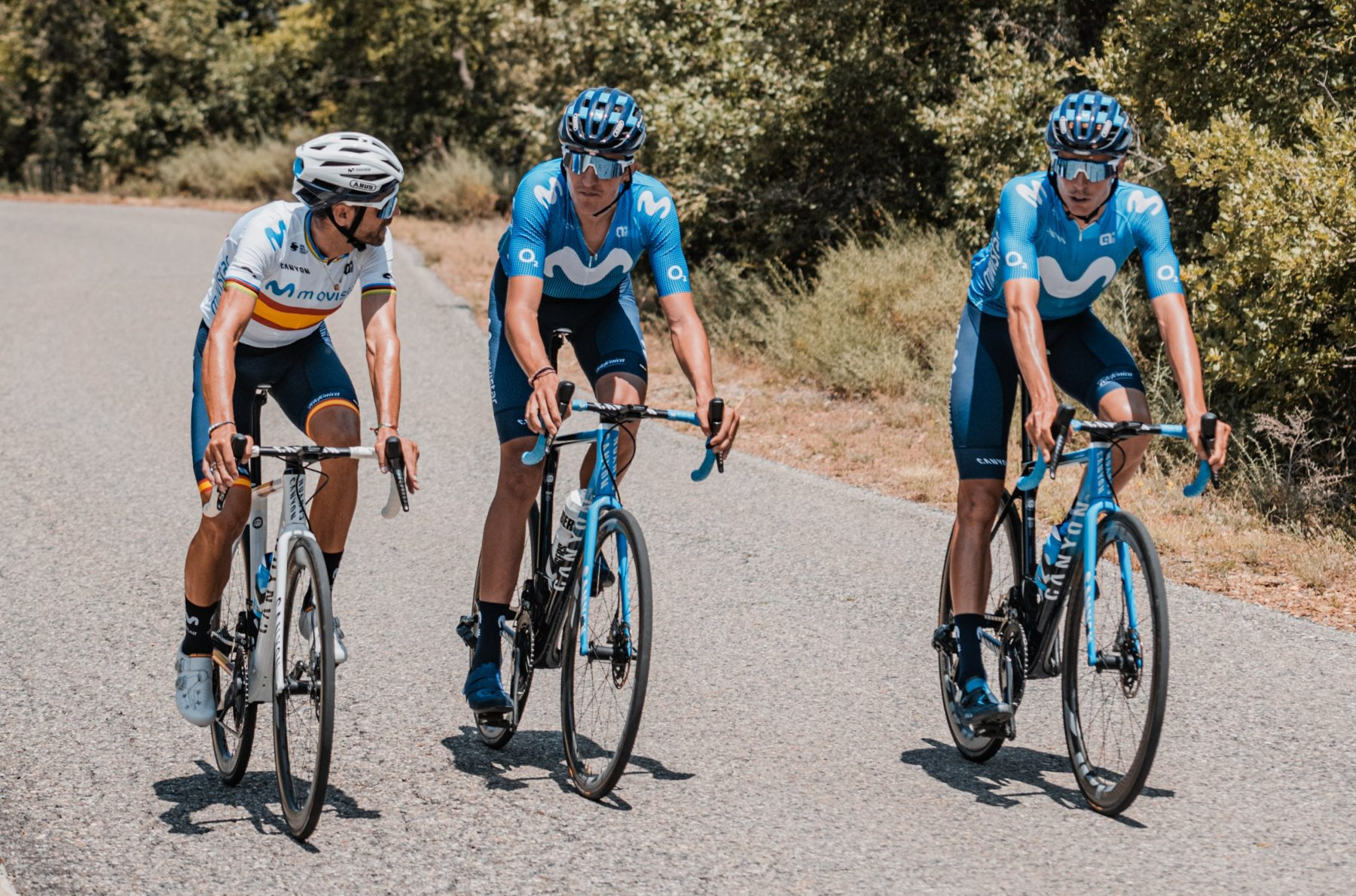 Imagen de la noticia 'Movistar Team to restart men's team's 2020 season in Burgos (July 28 – August 1st)'