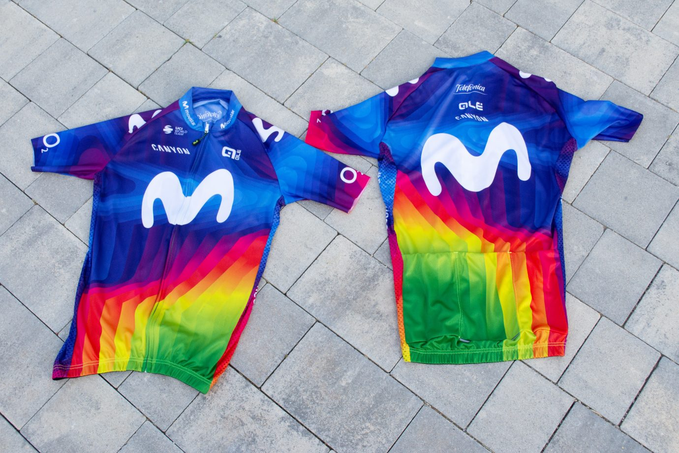 Imagen de la noticia 'Movistar Team to wear fan-selected Charity Jersey at Strade Bianche'