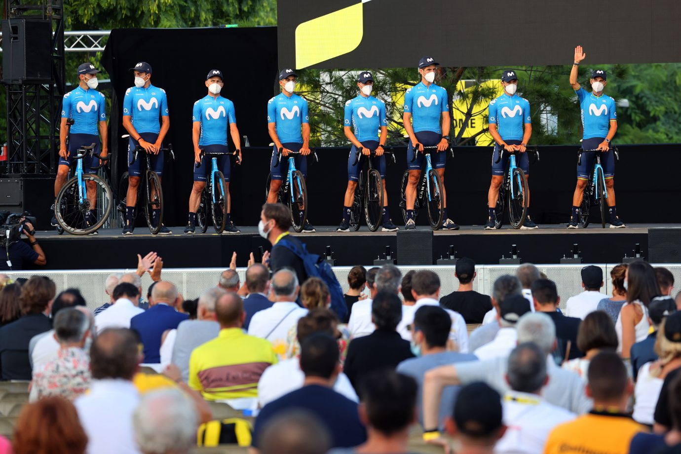 Imagen de la noticia 'Movistar Team gets into 2020 Tour-mood in Nice'