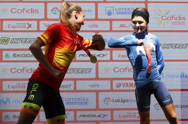 Imagen de la noticia 'Eider Merino gives Movistar Team another bronze at road race Nationals'