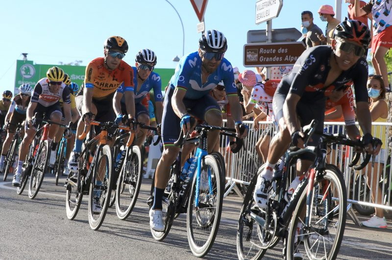Imagen de la noticia 'Valverde, Mas within GC group at first selection; Soler bounces back, goes on the attack'