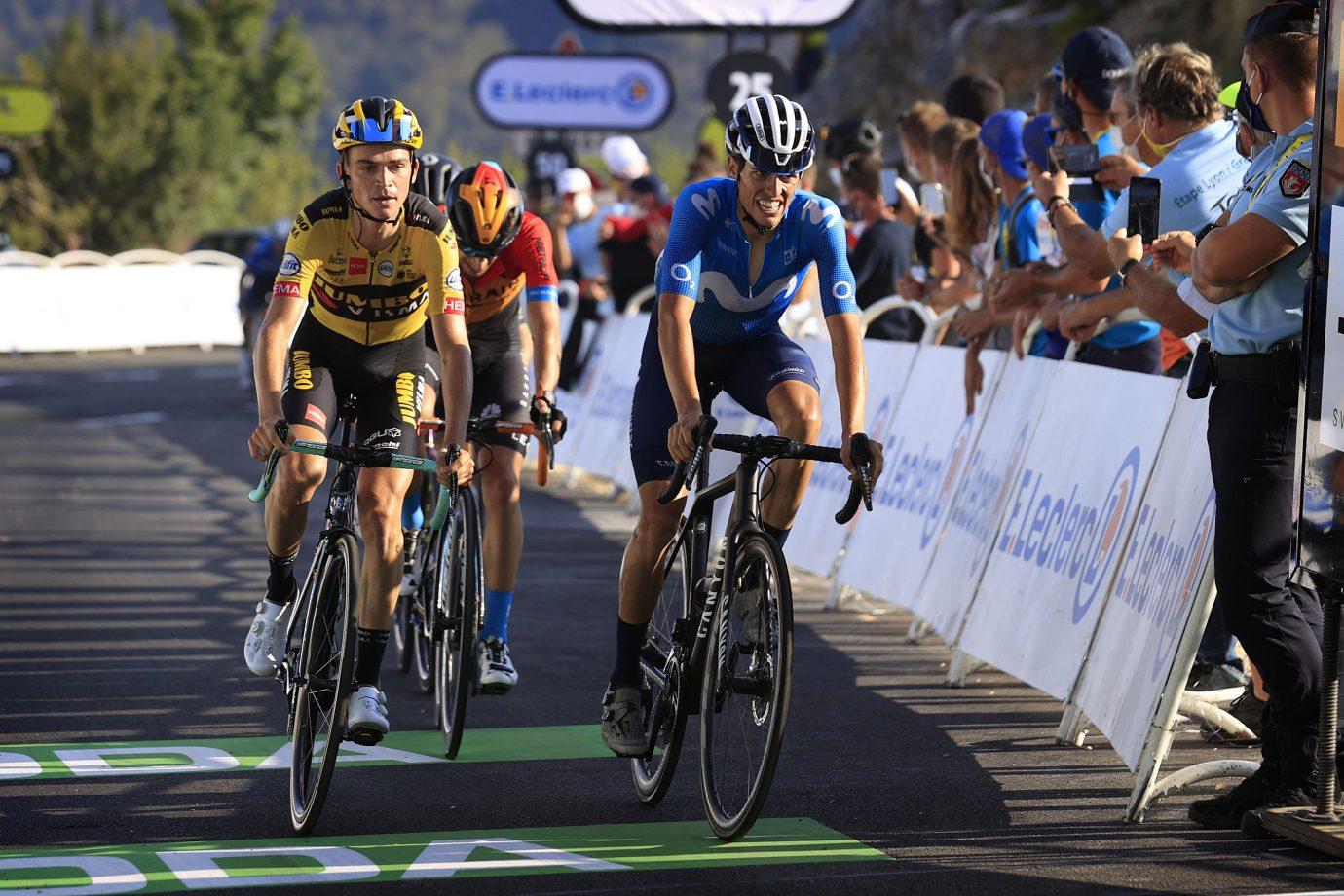 Imagen de la noticia 'Mas (5th), Valverde (10th) continue to progress atop Grand Colombier'