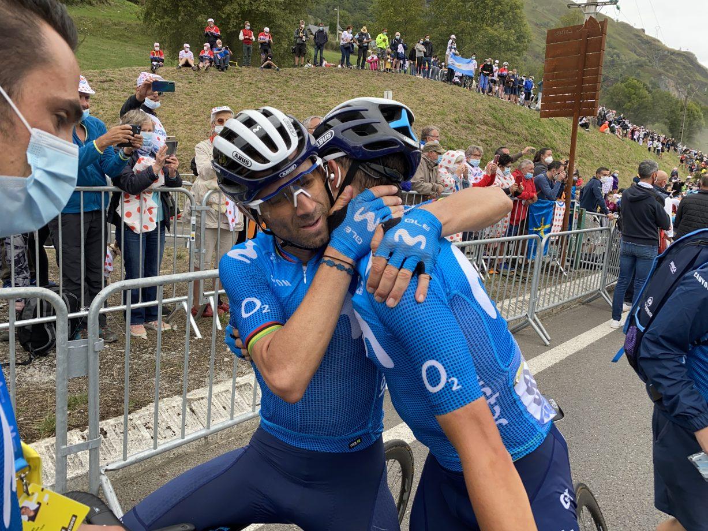 Imagen de la noticia 'Mas, Movistar Team keep fighting in the Pyrenees'