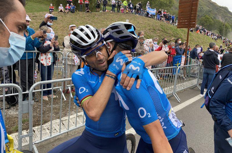 News' image'Mas y Movistar Team siguen luchando en Pirineos'