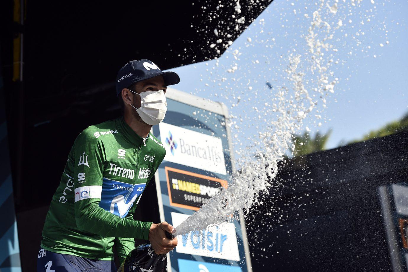 Imagen de la noticia 'Carretero wins KOM classification in Tirreno-Adriático'