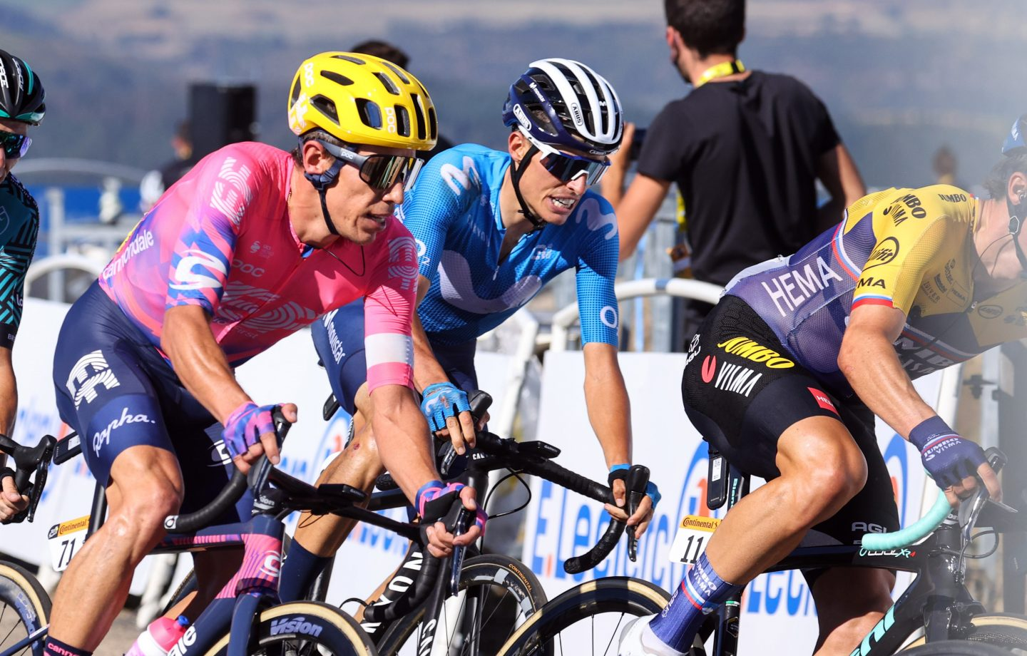 Imagen de la noticia 'Valverde, Mas, Soler inside GC group atop Mont Aigoual'